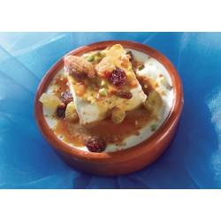Méli-mélo Helado de vainilla con avellanas y frutos secos caramelizados