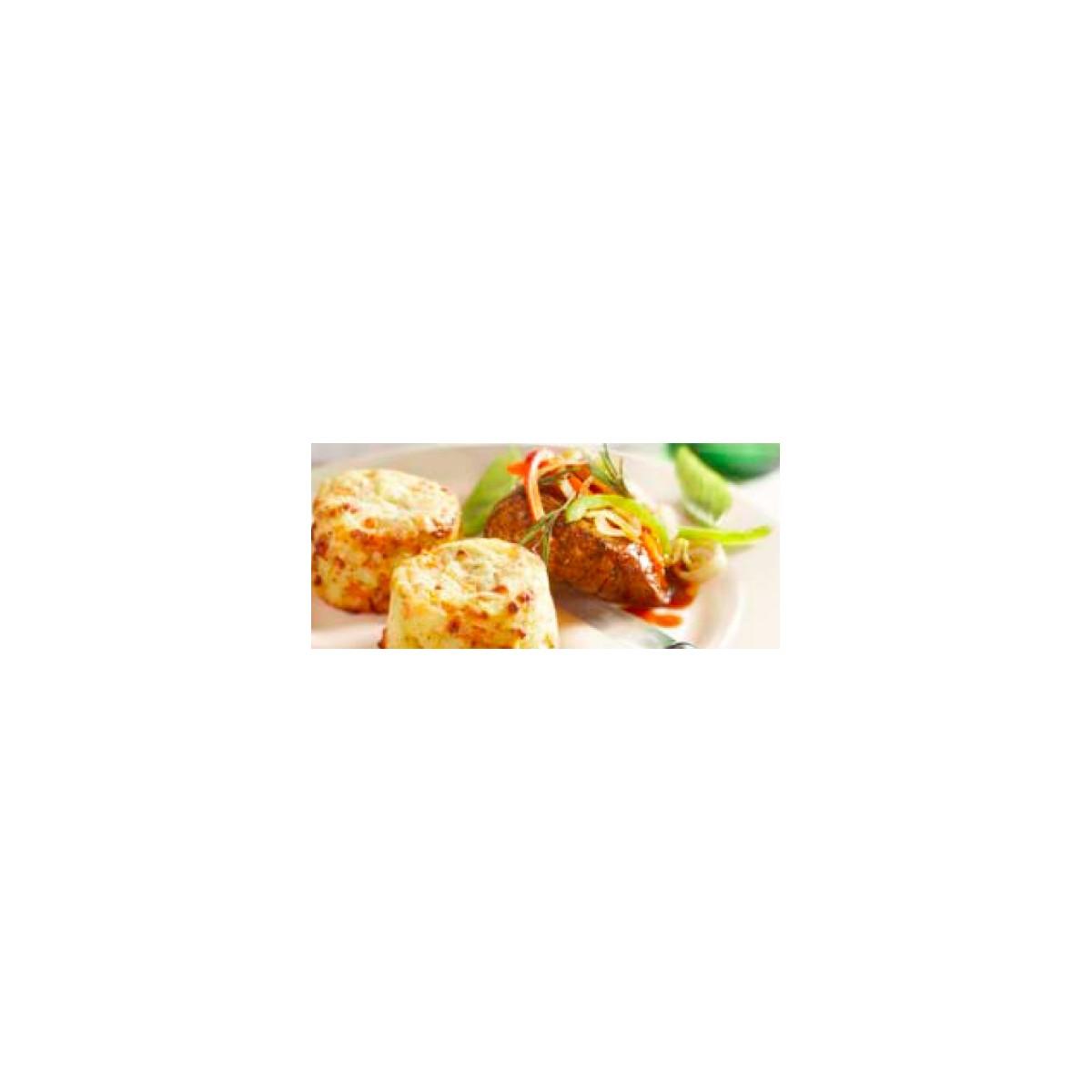 Gratinado de patatas con tomate y mozzarella consigel - Gratinado de patata ...