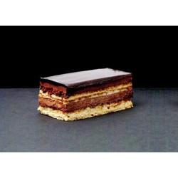 Banda de chocolate amargo y regaliz