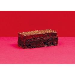 Banda crujiente de chocolate y avellana