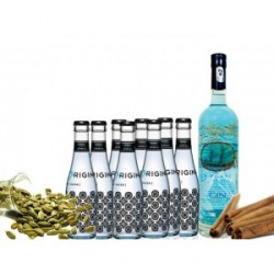 PACK GIN MAGELLAN Y TÓNICAS ORIGINAL BLUE