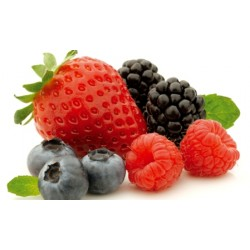 Coulis de frutos rojos