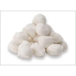 Perlas de mozzarela