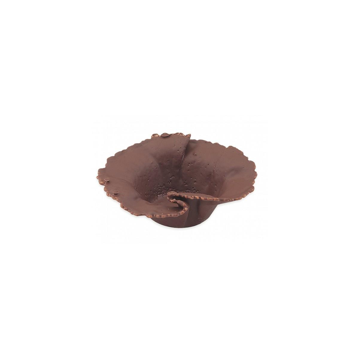 Tulipa cesta de chocolate