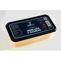 Pastel Merluza y Gambas Corpa 1 kg.