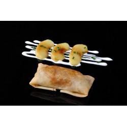Crujiente de foie y manzana 75 gr.