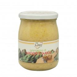 Crema de alcachofas y trufa 520 gr.