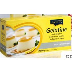 Gelatina laminas Gelita 1 kg.