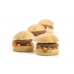 Mini hamburguesa clásica 30 gr.