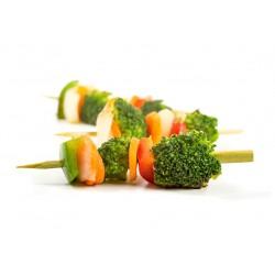 Brocheta de vegetales 60 gr.
