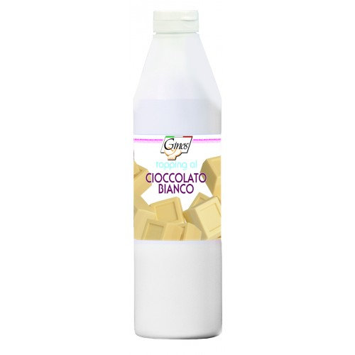 Toping de chocolate blanco Ginos 1 l.