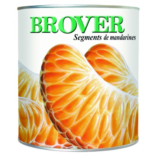 Mandarina en jagos Brover 1 kg.