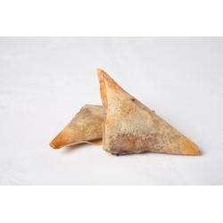 Triangulo de foie y membrillo